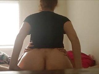 fuckin' my hot amateur redhead girl at home