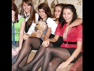 Candid Teens in Nylon Pantyhose they will drive you..